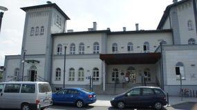 Kutno, Poland train station. The Kutno, Poland train station royalty free stock images