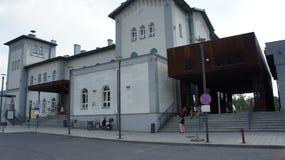 Kutno, station de train de la Pologne photo stock