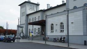 Kutno, station de train de la Pologne images libres de droits