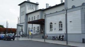 Kutno, station de train de la Pologne photographie stock