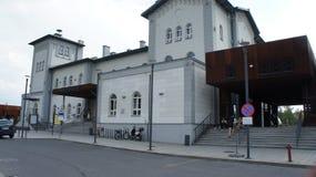 Kutno, station de train de la Pologne image stock