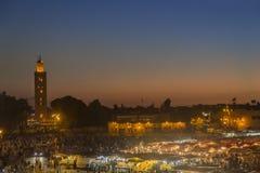 Kutubia在Marraketch 图库摄影