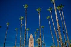 Kutubijja meczet, Marrakesh Fotografia Stock