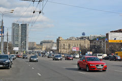Kutuzov Avenue in Moscow Russia Stock Photography