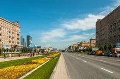 Kutuzov aveny arkivbild