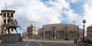 Kutuzovsky远景,莫斯科,俄国联邦城市,俄罗斯联邦,俄罗斯 免版税库存照片