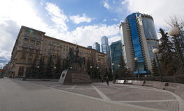 Kutuzovsky远景,莫斯科,俄国联邦城市,俄罗斯联邦,俄罗斯 图库摄影
