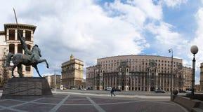 Kutuzovsky远景,莫斯科,俄国联邦城市,俄罗斯联邦,俄罗斯 免版税图库摄影