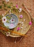 Kuuroord bloemensamenstelling Royalty-vrije Stock Foto