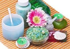 Kuuroord en aromatherapy stock fotografie