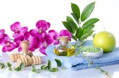 Kuuroord en massageconcept Royalty-vrije Stock Foto's