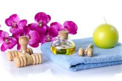 Kuuroord en massageconcept Stock Foto's
