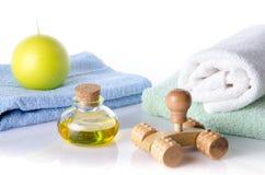 Kuuroord en massageconcept Stock Fotografie