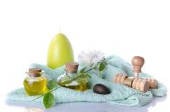 Kuuroord en massageconcept Royalty-vrije Stock Foto