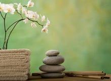Kuuroord en wellness stock foto