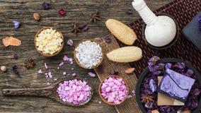 Kuuroord en Wellness-Decoratieideeën Stock Foto