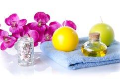 Kuuroord en wellnessconcept Royalty-vrije Stock Foto