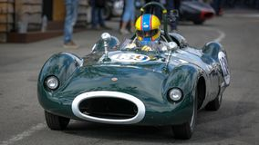 In Kuuroord Francorchamps het Kuuroord de Trofee & Stirling Moss Trophy van Zes Urenwoodcote royalty-vrije stock foto's