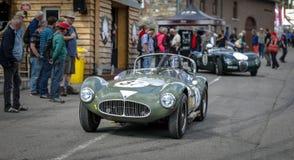 In Kuuroord Francorchamps het Kuuroord de Trofee & Stirling Moss Trophy van Zes Urenwoodcote royalty-vrije stock fotografie