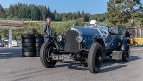 In Kuuroord Francorchamps het Kuuroord Zes Urenmotor het Rennen Legenden stock afbeelding
