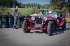 In Kuuroord Francorchamps het Kuuroord Zes Urenmotor het Rennen Legenden royalty-vrije stock foto's