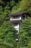 Kuuroord in groen regenwoud. royalty-vrije stock foto's