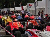 Kuuroord - het ras van de formulerenault van Francorchamps België Stock Fotografie