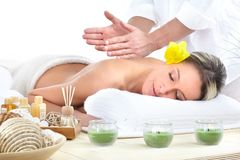 kuuroord massage royalty-vrije stock foto