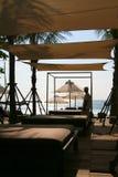 KUUROORD op het strand Royalty-vrije Stock Fotografie