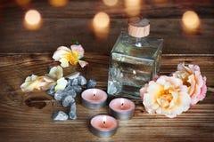 Kuuroorddecoratie voor wellness royalty-vrije stock fotografie