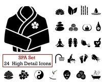 24 KUUROORDpictogrammen Royalty-vrije Stock Afbeeldingen