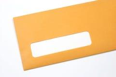 kuvert manila Royaltyfri Foto