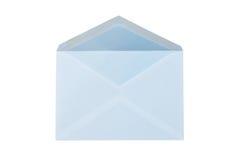 kuvertet isolerade att posta Arkivbild