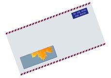 kuvertstolpe Arkivfoton