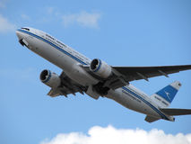 Kuwait Airways aircraft Stock Image