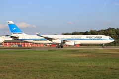 Kuwait Airways Royalty Free Stock Photos