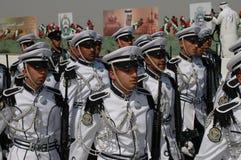 Kuwait-Armee-Erscheinen stockfotografie