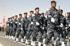Kuwait-Armee-Erscheinen lizenzfreies stockbild