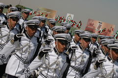 Kuwait Army Show. Army Show goes in Kuwait in feb 2007 for his Husein's the emir (President of kuwait Royalty Free Stock Photography