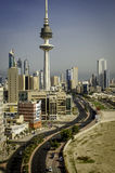 Kuwait City Fotografie Stock