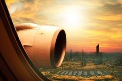 Kuwait City flyg- sikt Royaltyfria Foton