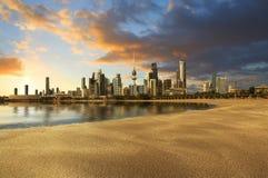Kuwait City landskap Arkivfoto