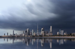 Kuwait city skyline Royalty Free Stock Photos