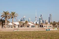 Kuwait City skyline Stock Photos