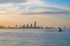 Kuwait City skyline Royalty Free Stock Photography