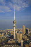 Kuwait do céu imagens de stock