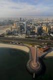 Kuwait do céu imagens de stock royalty free