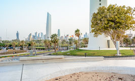 Kuwait Downtown. Downtown of kuwait Royalty Free Stock Image