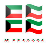Kuwait Flag Royalty Free Stock Images