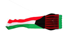 Kuwait flag kite Royalty Free Stock Photos
